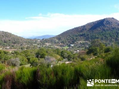 Castañar de la Sierra de San Vicente - Convento del Piélago;escapadas por madrid;mapas senderismo